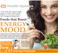 Foods that boost energy and mood
