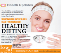 What woman in their 40's need to know about healthy dieting