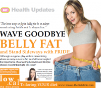 Wave goodbye belly fat